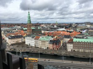 Udsigt fra Christiansborg Slotstårn